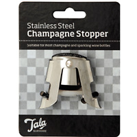 Tala Professional Quality Champagne Stopper Wine Bottle Rum Drinks Whiskey 1 - 2