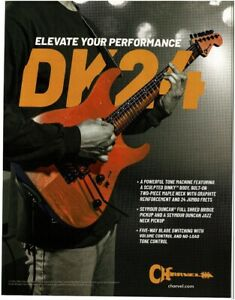 2018 CHARVEL DK24 Pro Mod electric guitar magazine ad