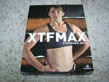 XTF MAX Women's Home Fitness 12 DVD Set 12 Workouts Stephanie Oram Exercise DVDs