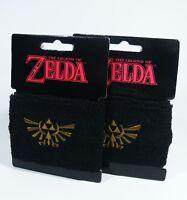 ZELDA 2x Armband NEU Schweißband Wristband Nintendo triforce Wii Switch official