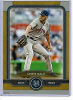 Chris Sale 2019 Topps Museum 5x7 Gold #12 /10 Red Sox