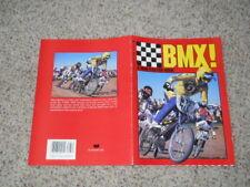 Scholastic Bmx! A Mini poster book 1984 complete Gt Haro Hutch Skyway Redline