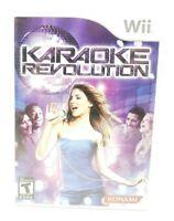 Karaoke Revolution Nintendo Wii Game