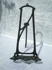 BRONZE ART NOUVEAU DISPLAY EASEL STAND