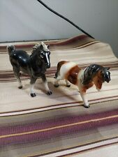 vintage Goebel lefton Horse Figurines collectibles germany