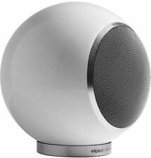 Elipson Planet L Bookshelf Speaker (Single) - White Lacquer, New