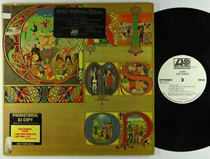 King Crimson - Lizard LP - Atlantic PROMO