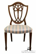 1940's Vintage Antique Duncan Phyfe Shield Back Dining / Accent Side Chair