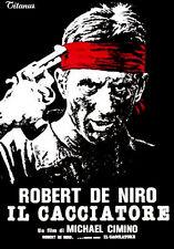 IL CACCIATORE De Niro POSTER 70x100 Non Piegato!