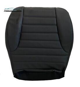 1996-1998 Jeep Grand Cherokee Laredo Driver Bottom Leather Seat Cover Dark Gray