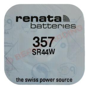 Genuine RENATA Silver Oxide Watch Battery 1.55v Swiss Made -ALL SIZE SHOWCASE!