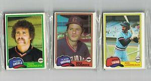 1981 Topps Baseball Factory Sealed Rack Pack