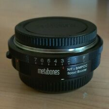 Metabones Nikon G Lens to Blackmagic Pocket Cinema Camera Speed Booster BMPCC