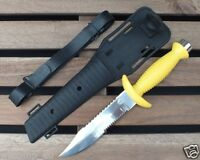 Scuba Diving Hunting Fishing Survival Stainless Steel WILCOMP Knife WIL-DK-13