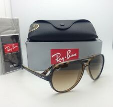 New RAY-BAN Sunglasses RB 4125 CATS 5000 710/51 59-13 Havana w/ Brown Gradient