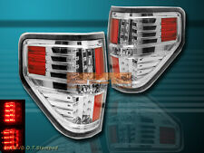 09-14 FORD F150 CLEAR LED TAIL LIGHTS  10 11 12 13