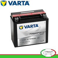 Batterie Démarrage Moto Varta AGM YTX20L-4/YTX20L-BS 12V 18Ah 518901026
