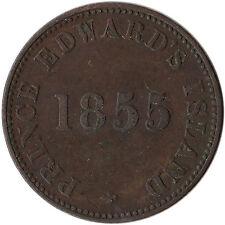 1855 Canada - Prince Edward Island Self Government & Free Trade Token PE-7A1