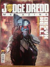 Judge Dredd Megazine Issue 317 08/12/11 Tor Cyan - World Of Hurt Mini-trade