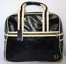 BNWT Fred Perry Men's Midi Black Bowling Bag