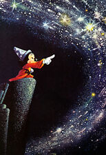 Mickey Mouse Poster, the Sorcerer's Apprentice, Fantasia, Wizard