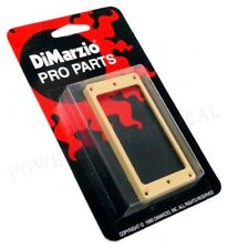DIMARZIO HUMBUCKER PICKUP MOUNTING RING GUITAR NECK POSITION (CREAM) FLAT *NEW*