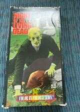 Night of the Living Dead ~ Colorized Version ~ VHS tape ~ Horror. FAST SHIP!