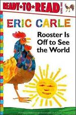 Rooster Is Off to See the World (The World of Eric Carle)-ExLibrary