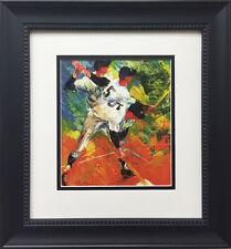 "LeRoy Neiman ""Joe DiMaggio (The Yankee Clipper)"" CUSTOM FRAMED ART PRINT Yankees"