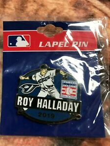 Roy Halladay Official Pin- 2019 Baseball Hall of Fame Induction- Blue Jays