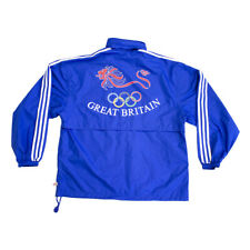 Great Britain Atlanta 96 Olympics Adidas Windbreaker Jacket | Vintage 90s Sports