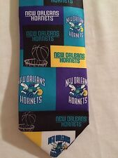 New NWT New Orleans Hornets NBA Licensed Men's Tie Basketball Ralph Marlin