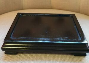 Wooden Oriental Stand to Display Bonsai Tree, Figurines and Pottery. (9)