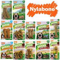 Nylabone Healthy Edibles WILD Natural Long Lasting Dog Puppy Treats Snacks
