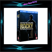 ROCKY - THE UNDISPUTED COLLECTION MOVIES 1 2 3 4 5 6 *** BRAND NEW BOXSET***