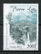 French Polynesia 2017 MNH Pierre Loti Waterfall 1v Set Waterfalls Trees Stamps