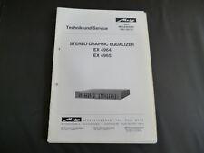 Original Service Manual Metz EX 4964 EX 4965