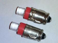 2 x Red LED SMD 281 BA7S Lucas Type LLB281 Car Dash Gauges Light Bulbs Lamp 12V