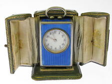 Asprey reiseuhr 8 tageuhr in original pouch of approx. 1918
