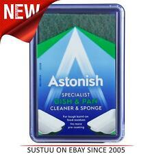 Astonish Premium Edition Dish & Pan Cleaner with Sponge│1 x 250g