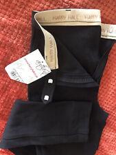 New With Tag Black Harry Hall Atlanta Ladies Jodhpurs Reg GB28