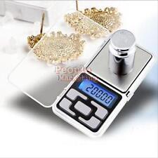 500g x 0.1g Digital Pocket Scale Precision Jewellery Balance gram Scales Weight