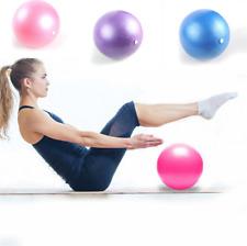 25cm Mini Yoga Ball Pilates Fitness Exercise Stability Ball Women Lady Gym