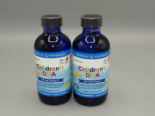 2 Pack Nordic Naturals CLO Children's DHA, 4-Ounce
