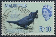 Mauritius 1965 SG#331, 10R Bird Definitive Used #D10650