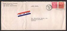 San Jose, California--1944 Prexies Air Mail Cover