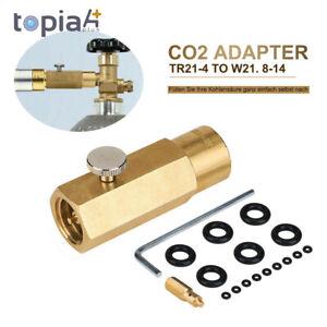 CO2 Adapter 425g Wassersprudler f. Befüllung von Sodastream Soda Club Zuhause DE