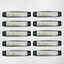 Universal 30: 12v LED Blanco Lateral Luz de señalización Caravana VW OPEL Dodge