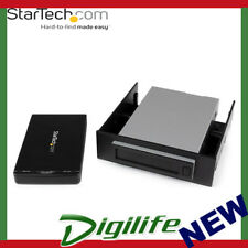"StarTech Hot Swap Hard Drive Bay 2.5"" SATA SSD HDD USB 3.1 Enclosure"