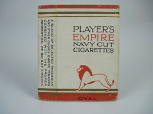 Players Empire Navy Cut Oval Cigarettes (10) c.1930